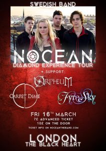 Black Heart Nocean Orpheum London